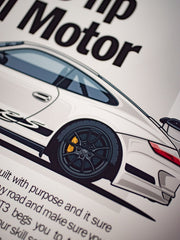 GT3 RS Spec Poster