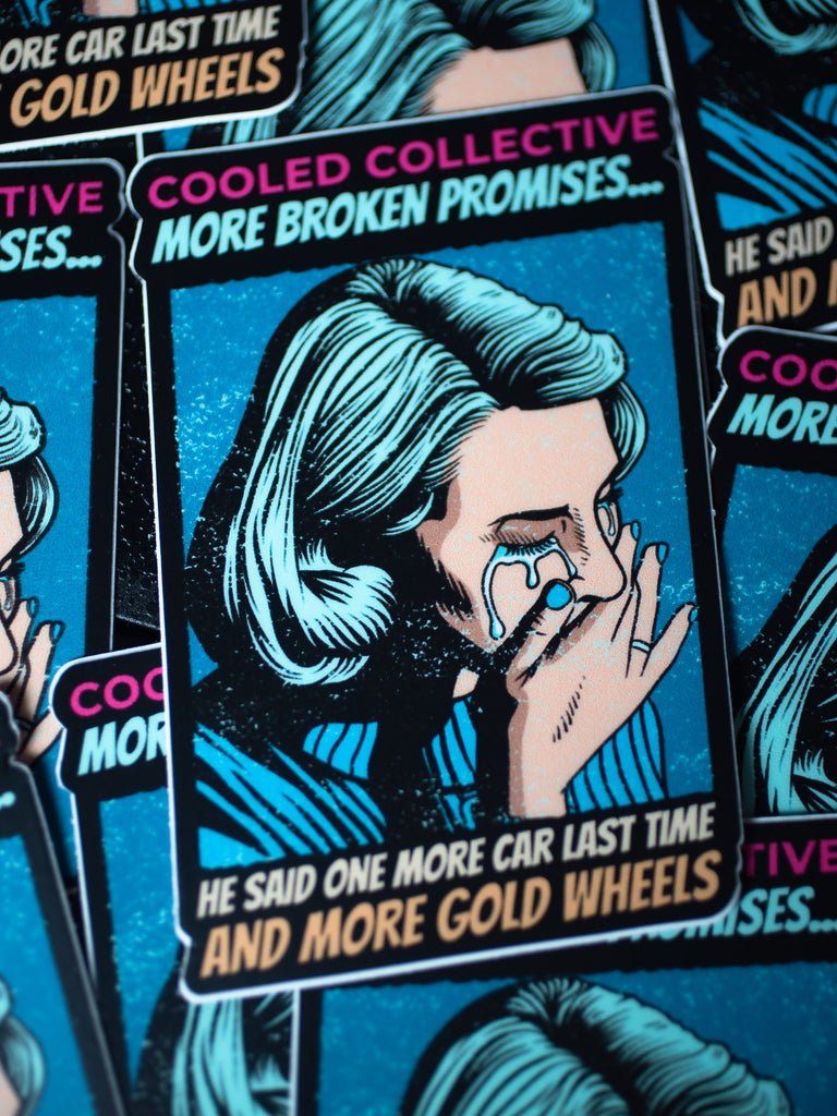 "More Broken Promises Decal - ""He said one more..."""