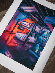 "#012 Signature Series Limited Poster - ""90s Dream Garage"""