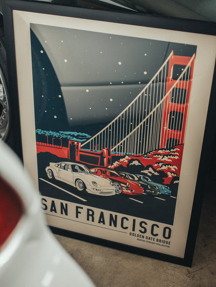 City of San Francisco - Golden Gate Bridge Poster