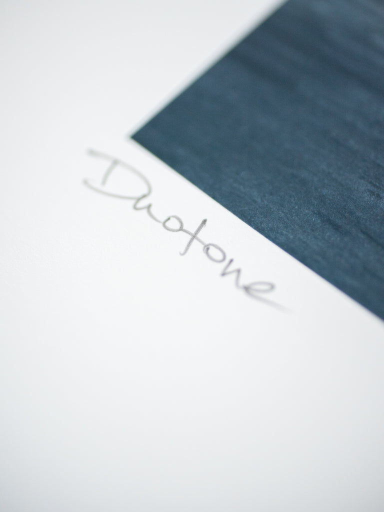 "#016 Signature Series Limited Poster - ""Duotone"""