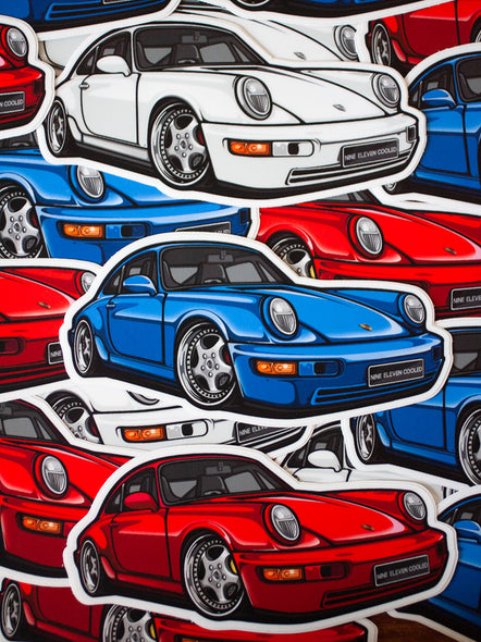 964 Die Cut Decal [Collab 911c + Chibimotors]