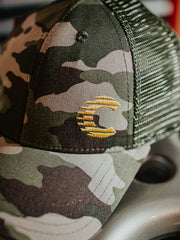 Cooled Collective Army Camo Cap