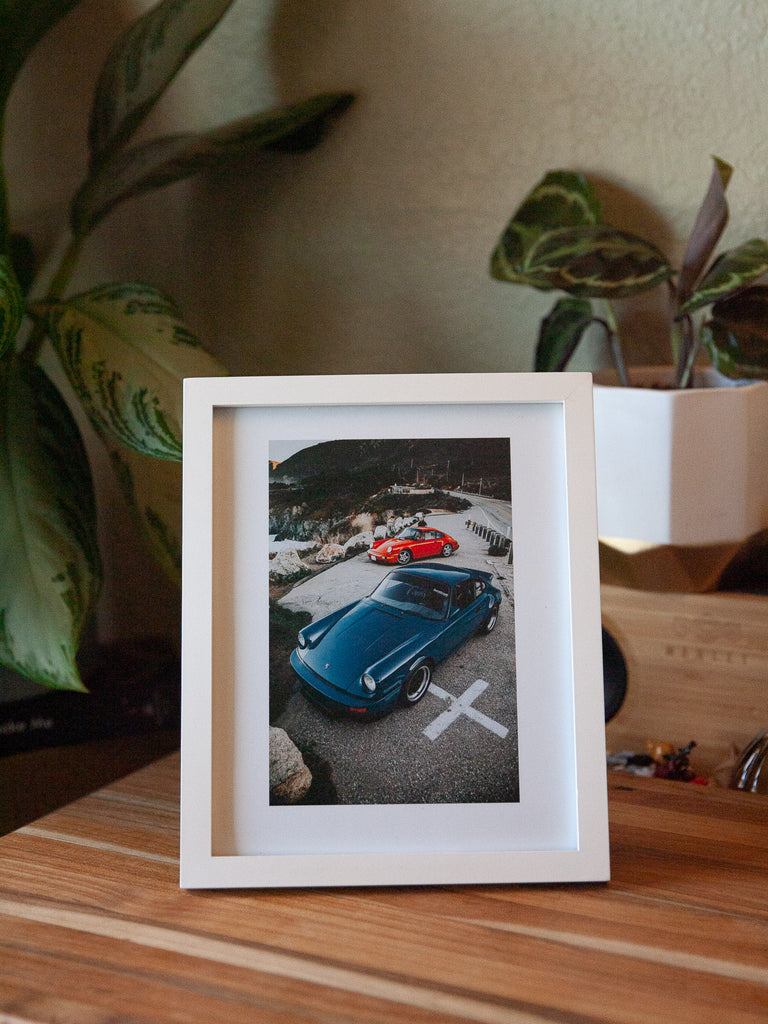 8x10 Print - Aircooled siblings off California Coast