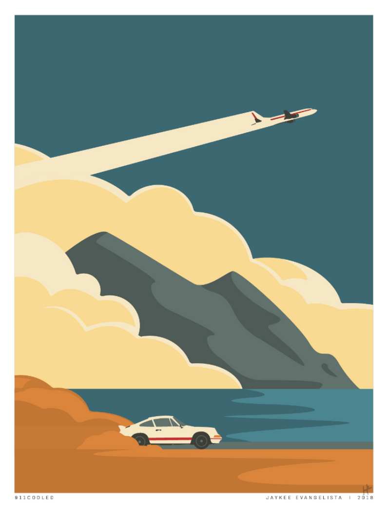 Blast off - Exclusive 30 Print Poster at 18x24