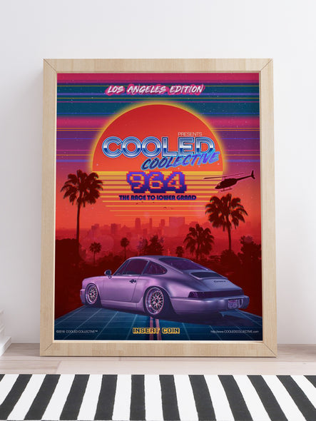 "80s Theme 964 Los Angeles Edition - 18x24"" Poster"
