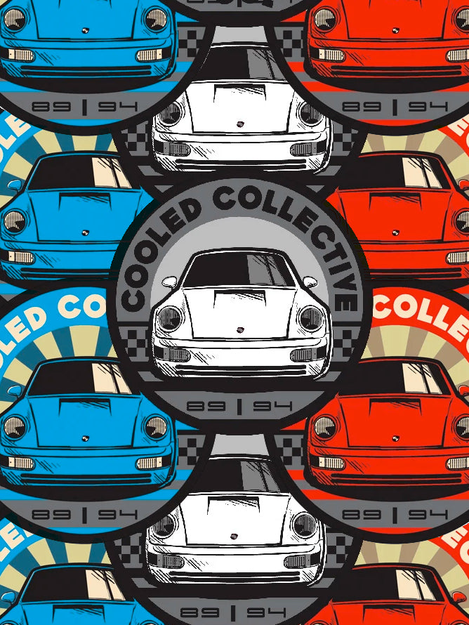 89-94 964 Cooled Collective Decal