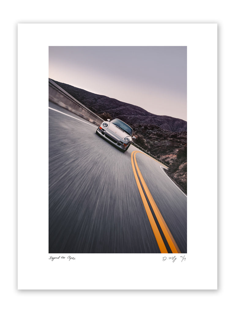 "#002 Signature Series Limited Poster - ""Beyond the Apex"""