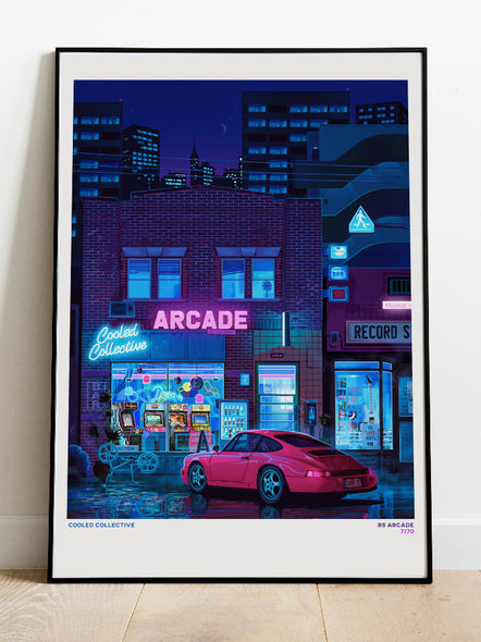Retro RS Arcade Poster (Limited)