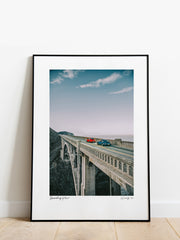 "#006 Signature Series Limited Poster - ""Vanishing Point"""