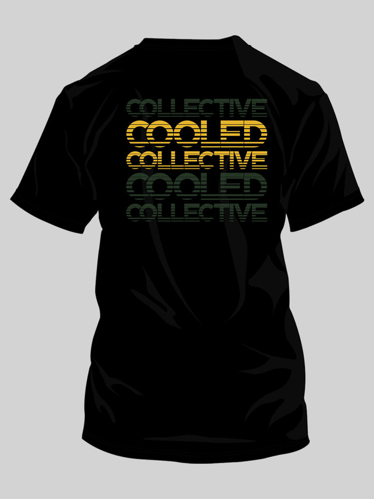 Cooled Collective Green + Gold Shirt