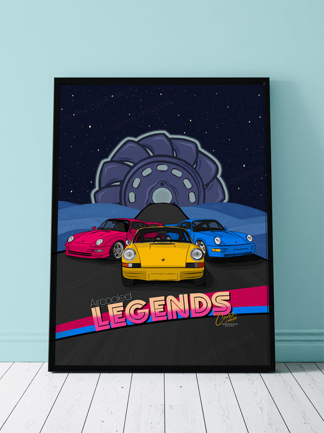 Aircooled Legends Poster 18x24""