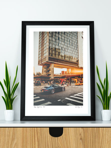 "#001 Signature Series Limited Poster - ""The Highline 964"""