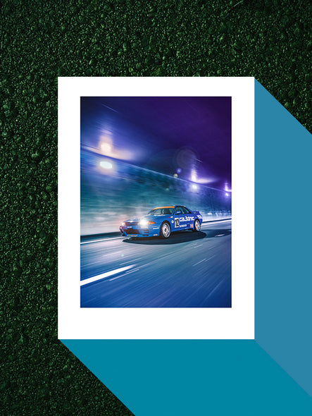 Retro 80s Poster (Limited) - Sonic Speed Lines