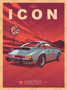 "911SC ""ICON"" Poster collab with Andrew Mytro Exclusive!"