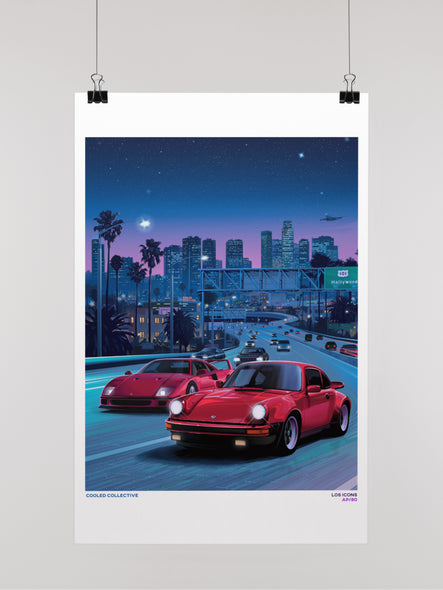 Retro #4 Los Icons Poster (Limited)