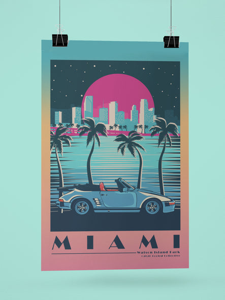 City of Miami - Watson Island Park Poster