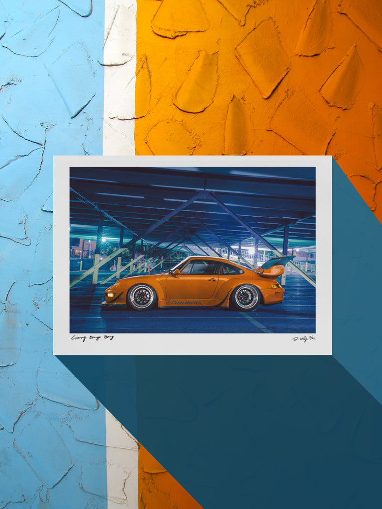 "#014 Signature Series Limited Poster - ""Creamy Orange Bang"""