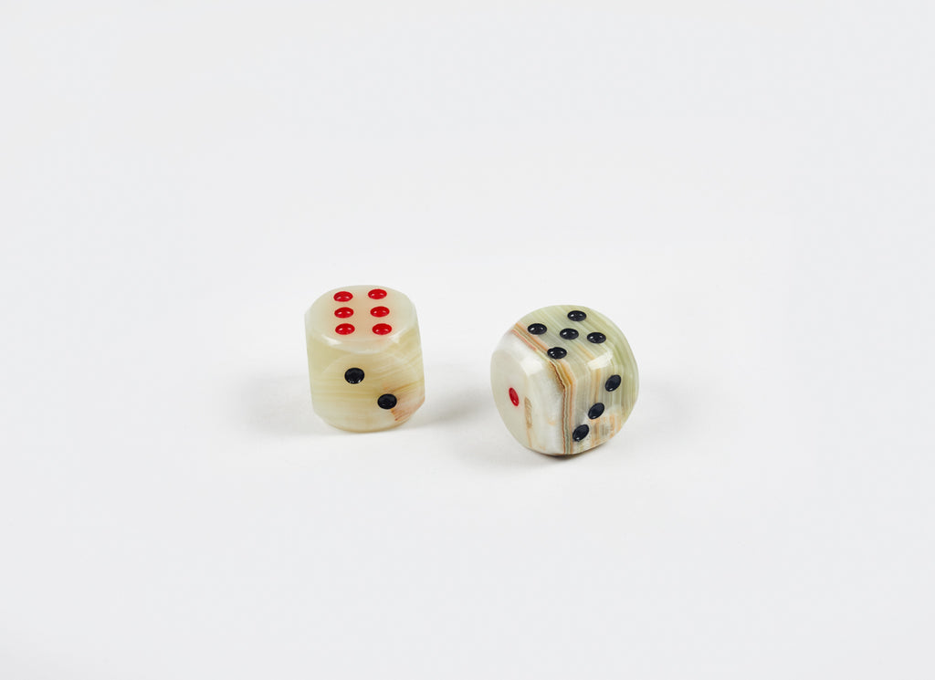 Pair of Onyx Dice