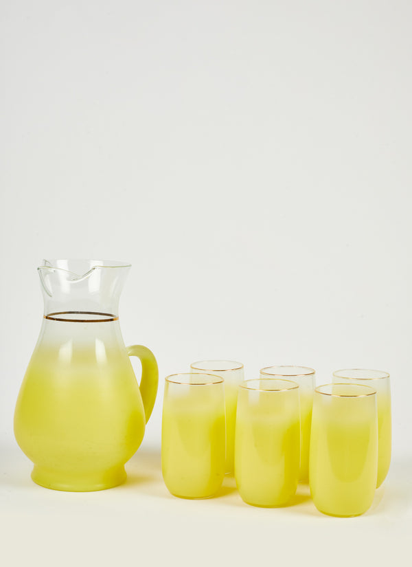 1950's Yellow Blendo Set