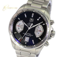 Load image into Gallery viewer, Tag Heuer Men's Carrera Automatic CAV511A Steel Black Dial 41mm-Mint Condition - Time Keepers Vault