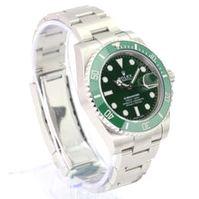 Load image into Gallery viewer, Rolex Submariner 116610V 'Hulk' Steel Ceramic Green on Green Automatic-UNWORN - Time Keepers Vault