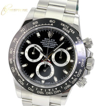 Load image into Gallery viewer, Men's Rolex Daytona Stainless Steel Black Dial Ceramic Bezel 116500 40mm Watch-Mint - Time Keepers Vault