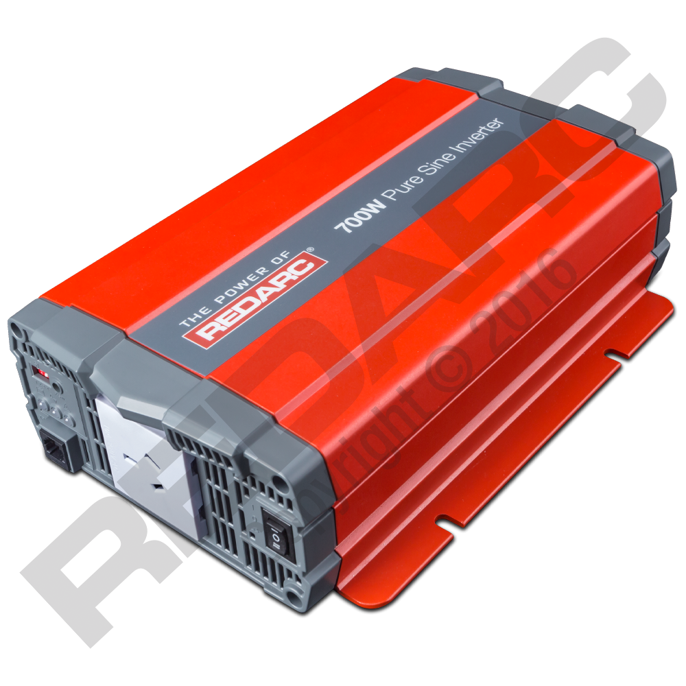 Redarc 700W 12V PURE SINE WAVE INVERTER