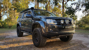 SCF Rock Sliders - Standard - Amarok 2.0L and Amarok V6