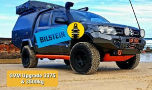 3375kg & 3500kg Bilstein Suspension GVM Upgrade - Amarok - Available 2021