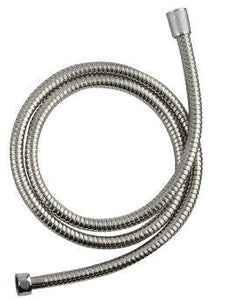 Shower Head - Chrome (Flow Reducer) & Stainless Steel Non Kink Shower Hose 1.5m