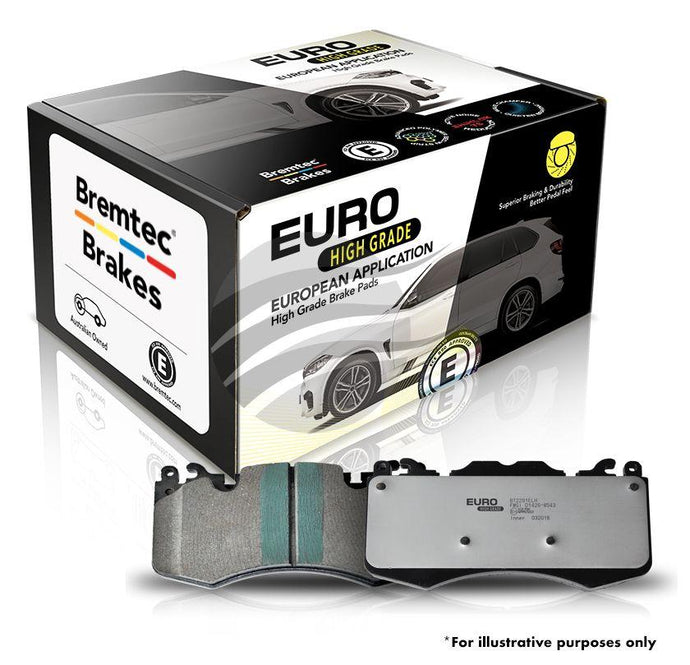 Brake Pads Set Bt1943elh Euro-line Hd  VW Amarok 2.0 Tdi (Front)