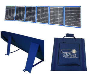 250W Solar Blanket Flexible Folding Panel w/ Legs & Armour CellCell