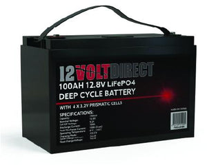 100AH Lithium Deep Cycle Battery