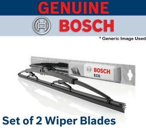 Wiper Blades Set 610S BOSCH - Early Amarok 2lt 4CYL (2010 to 2012 models)