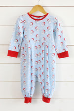 Bennett Romper - Jolly Old St. Nick