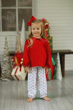 Cora Bubble Pant Set - Whimsy Wreaths