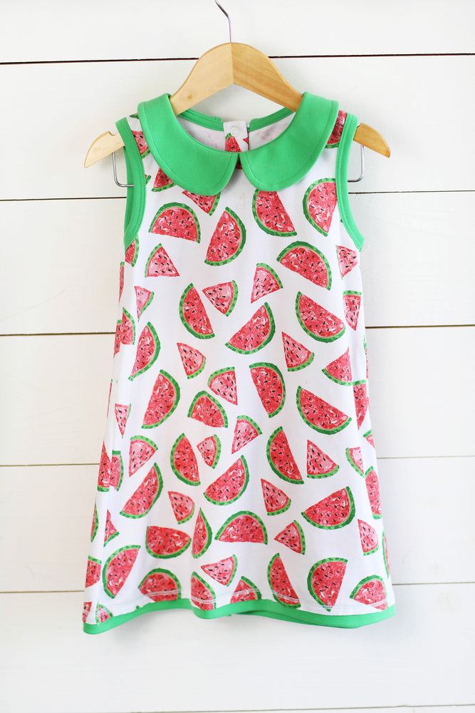 Claire Dress - Watermelon