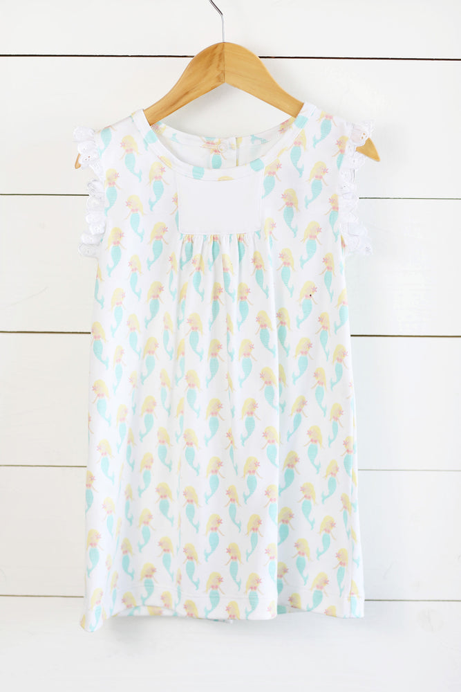 Molly Dress - Mermaid