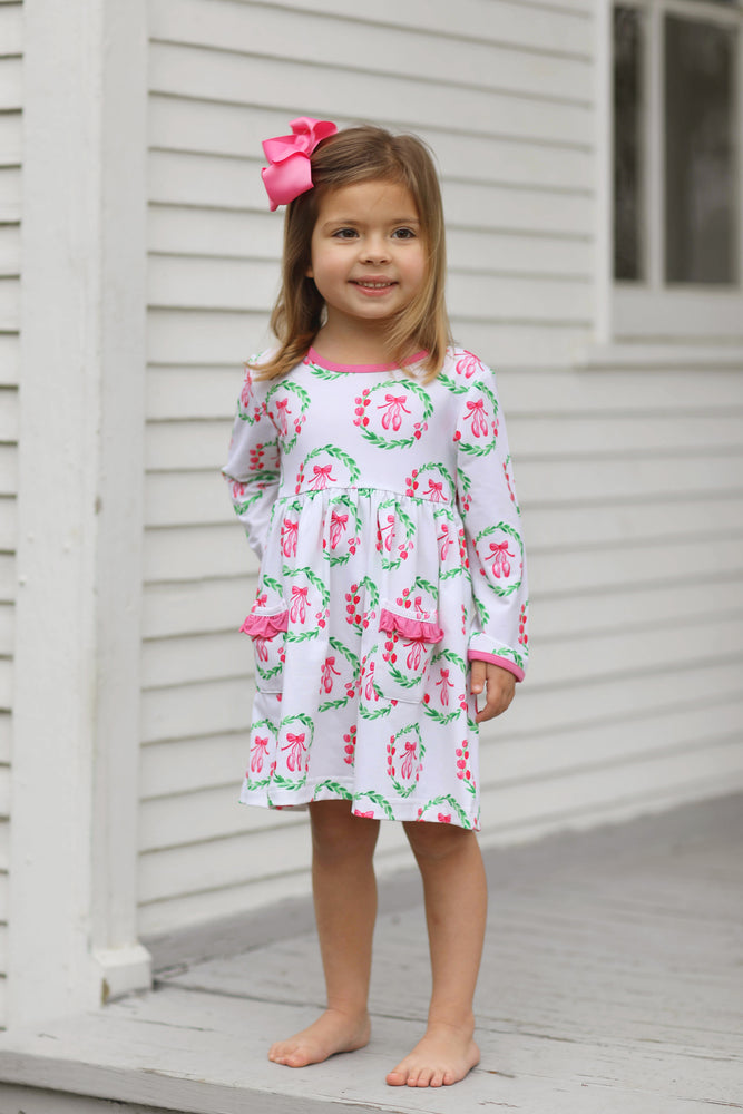 Isabella Dress - Ballerina