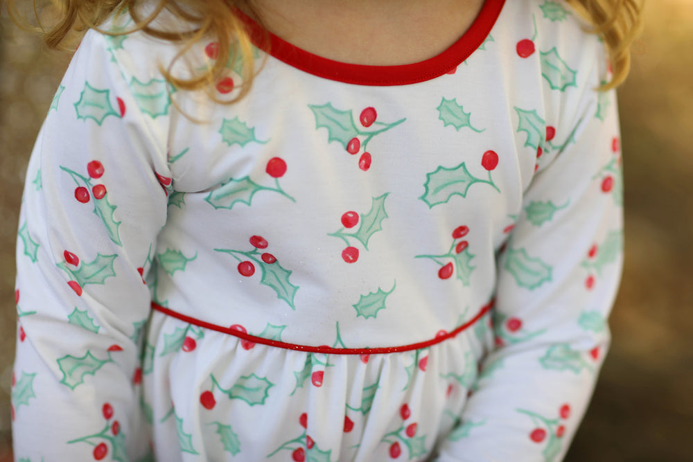 Jane Dress - Holly Jolly Christmas