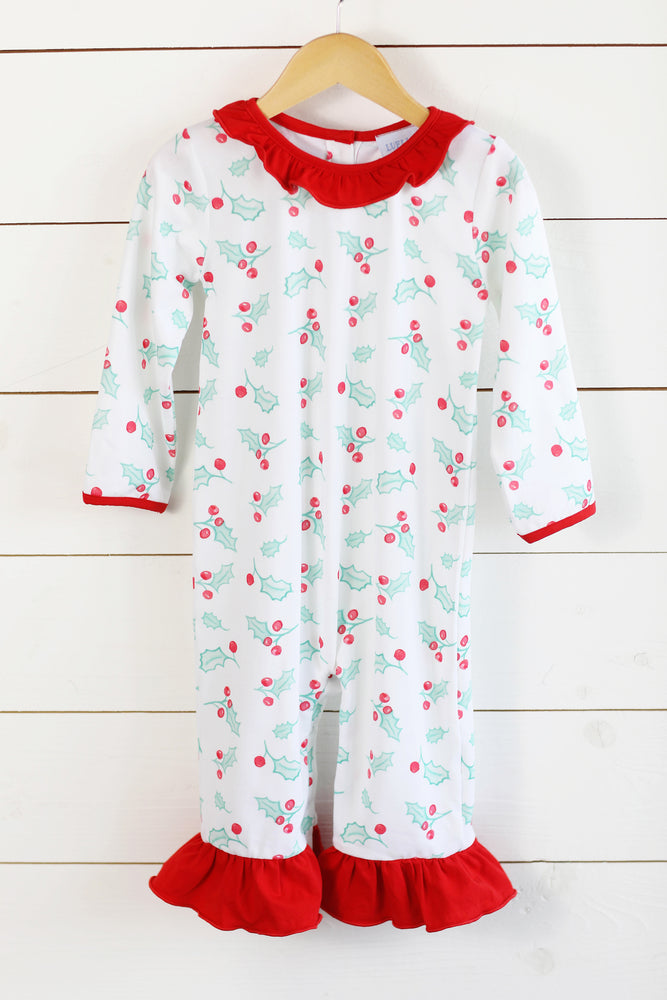 Lela Romper - Holly Jolly Christmas