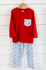 Luca Pant Set - Jolly Old St. Nick