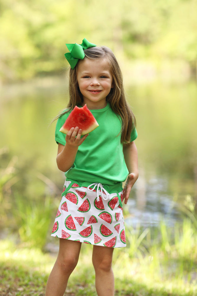 Mattie Skort - Watermelon