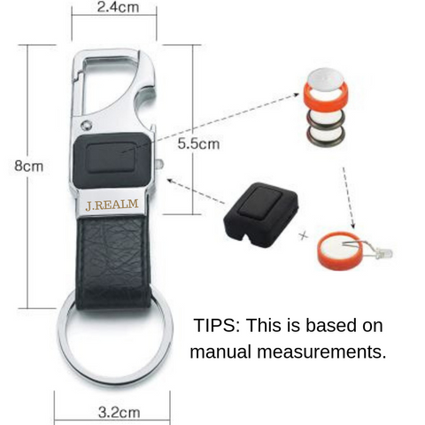 jrealm keychain product specifications