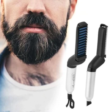 BEARD & HAIR STRAIGHTENER COMB FOR MEN