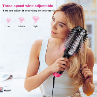 2 In 1 Hair Dryer Volumizer Rotating Hot Hair Brush