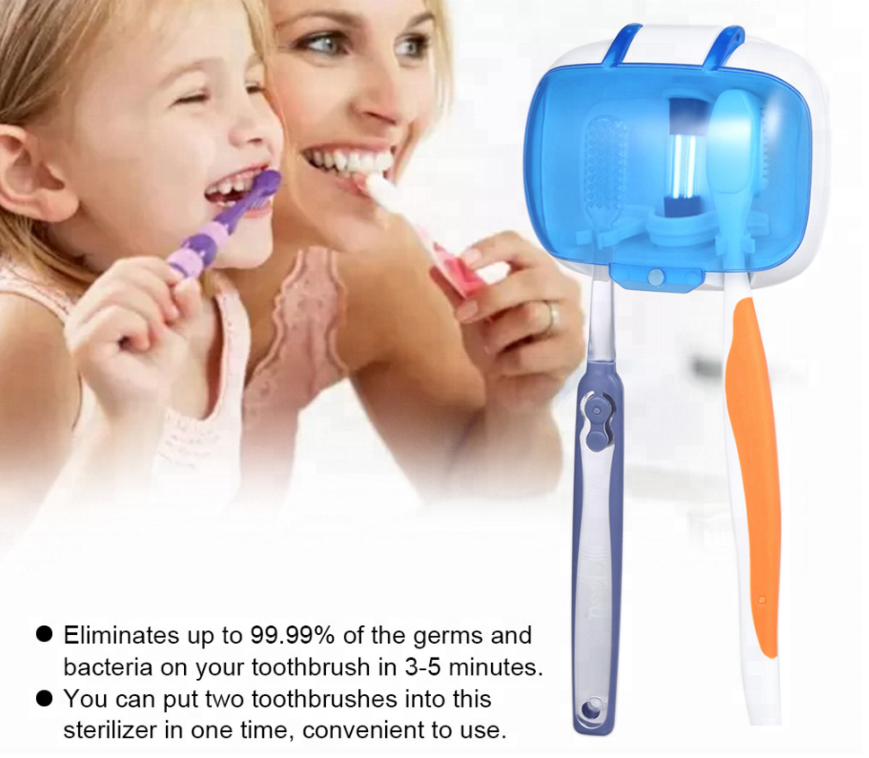 ULTRAVIOLET TOOTHBRUSH STERILIZER