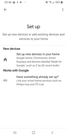 Luke Roberts Google Home Integration - Step 6.1
