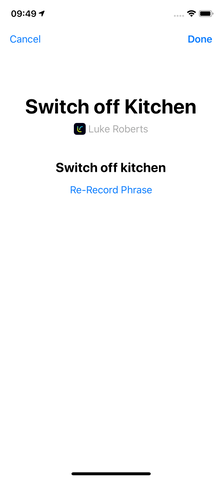 How do I use Siri Shortcuts with my smart lamp - Step 5.2